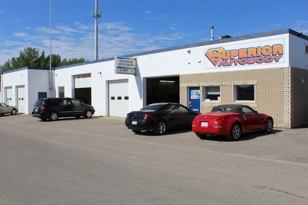 Saskatoon SGI auto body shop