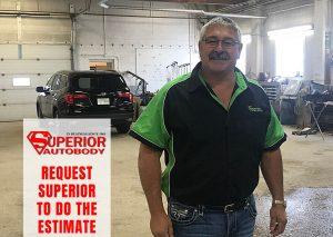 Request Superior To Do Your Vehicle's Estimate - Superior Auto Body